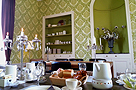 breakfast table - Chateau La Mothaye - B&B - Loire France