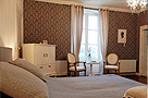 Loire - B&B - Chateau La Mothaye - Your room with boxspring - Loire valley